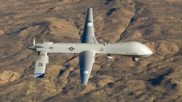 drones militares estadounidenses