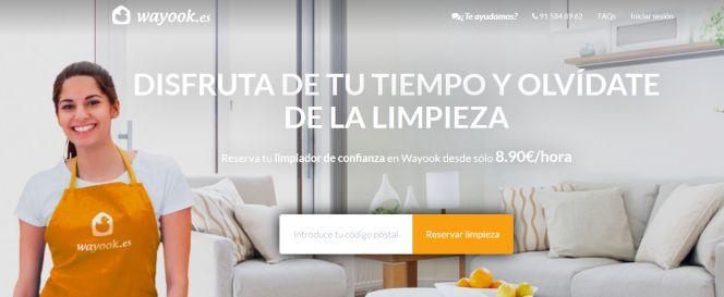 Wyook - startup de limpieza