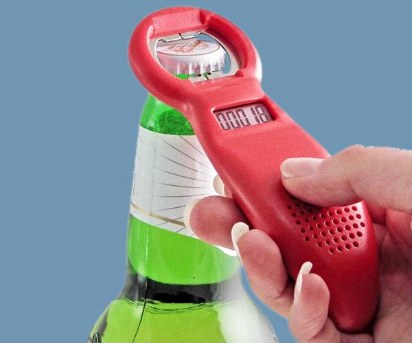 gadgets tecnologicos verano - abridor contador de cervezas