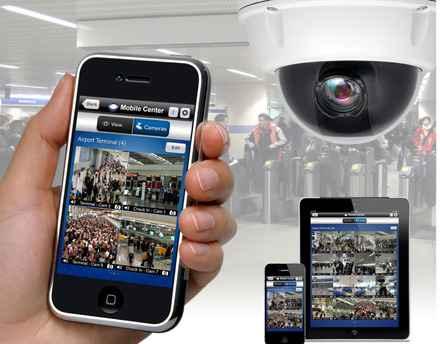 sistemas de cámaras de vigilancia para comercios con envío de imágenes a smartphones