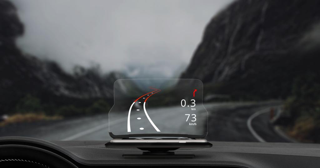 Hudway, un GPS más seguro para tu coche
