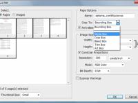 Cómo hacer un pdf de varias páginas con Photoshop