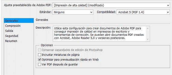 Manual para hacer pdf de varias páginas con Photoshop